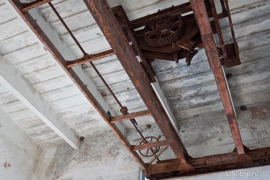 Кран под потолком