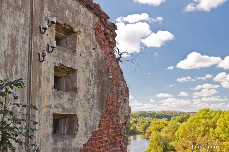 Остатки Лыковской ГЭС