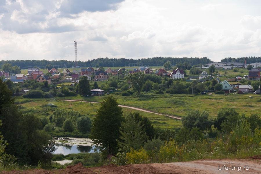 Живописные места рядом с поселком Гидростроя