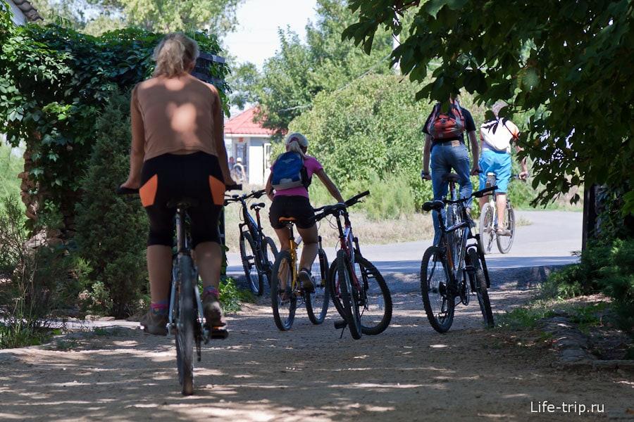 Велосипедисты из Ростова