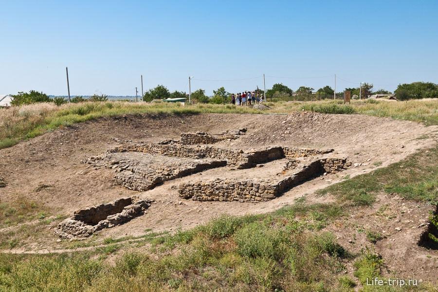 Древнее городище Танаис