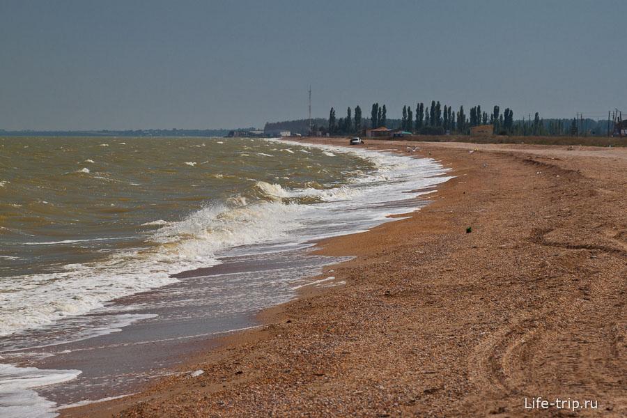 Берег Таганрогского залива