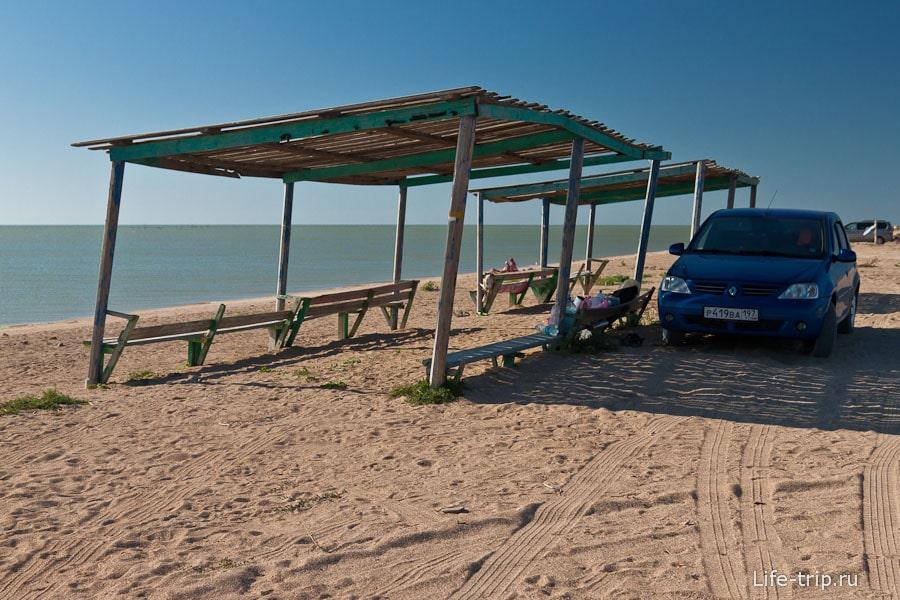Бесплатное место на берегу Азовского моря