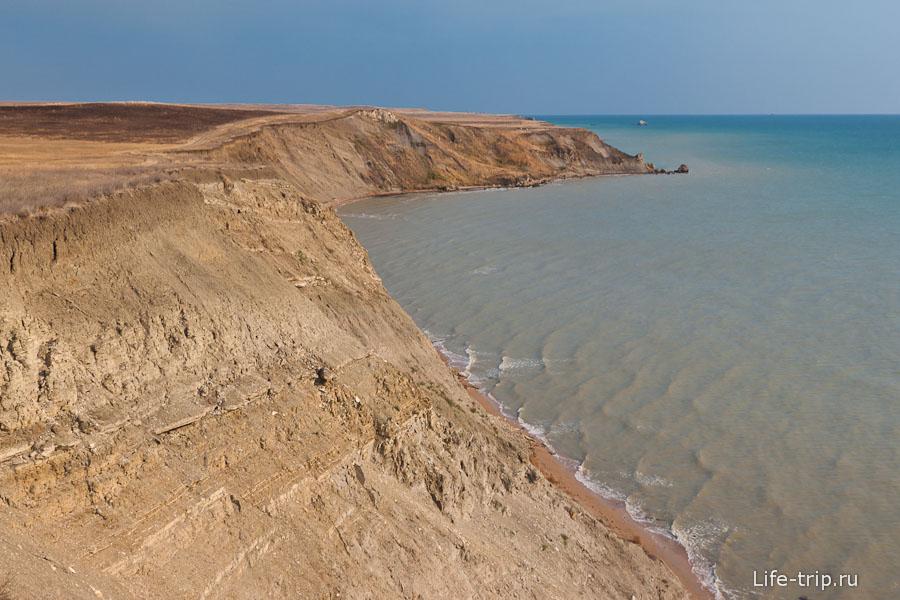 Обваливающиеся берега