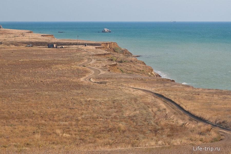 Пейзажи Таманского полуострова