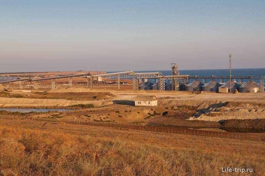 Нефтеперегонная станция