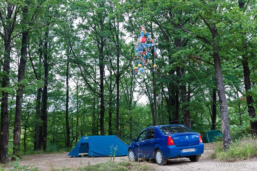 Стоянки для палаток