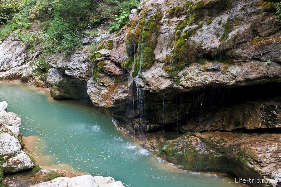 Мини-водопады Гуамки