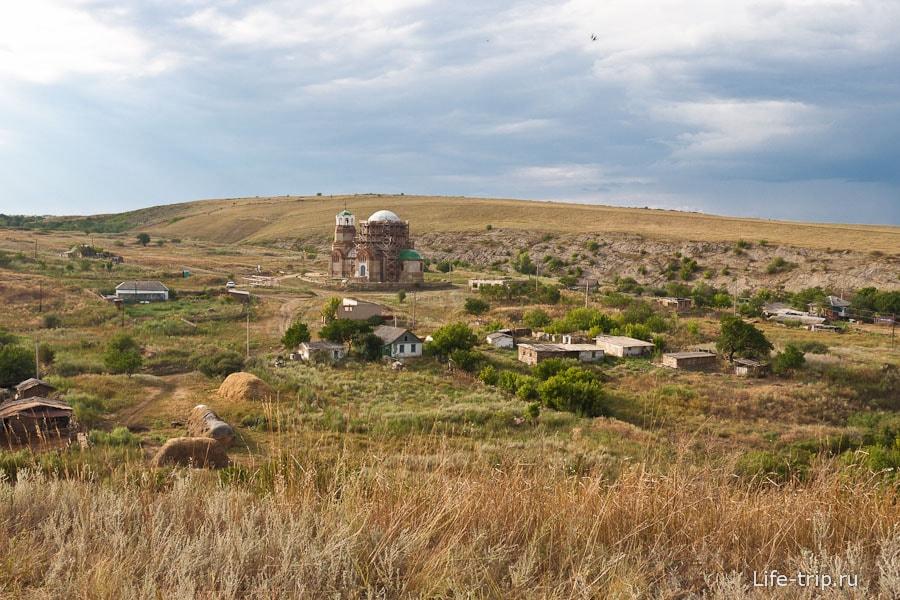 Хутор Дядин с холма