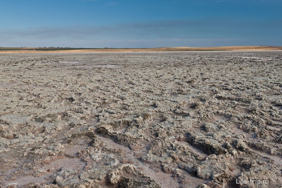 Озеро Соленое - ближе к центру