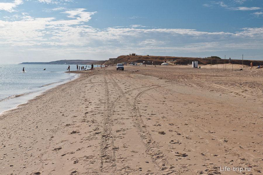 Кемпинг на берегу моря