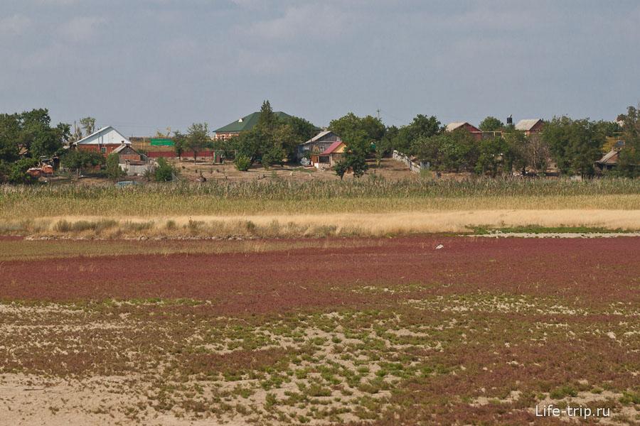 Деревня Шиловка на горизонте