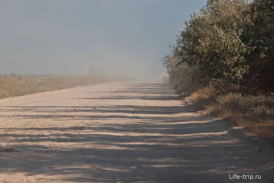 Пылища стоит...