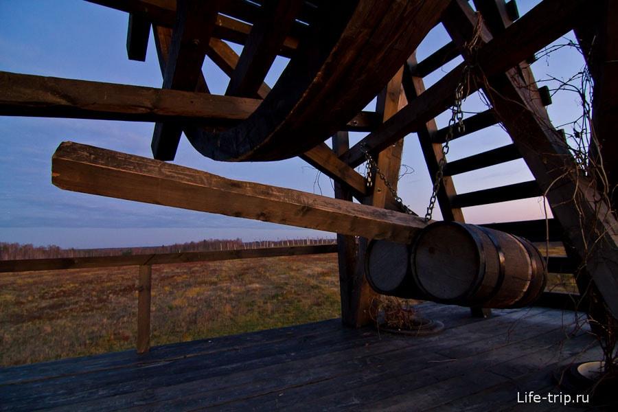 Внушительные достоинства деревянного быка