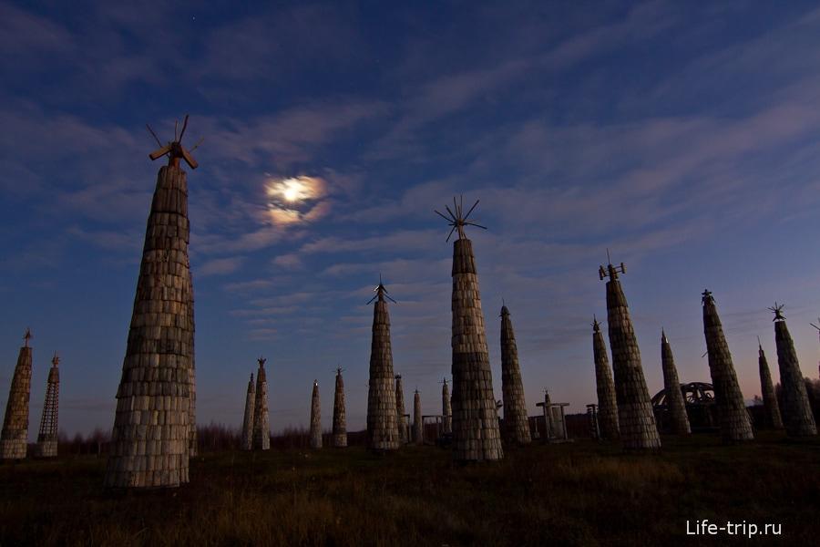 Фестиваль Архстояние в Николо-Ленивец Калужской области