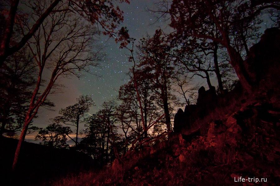 Звездное небо с Индюка