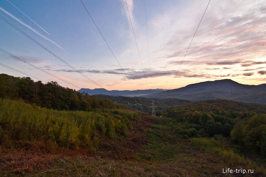Природно-электрические пейзажи