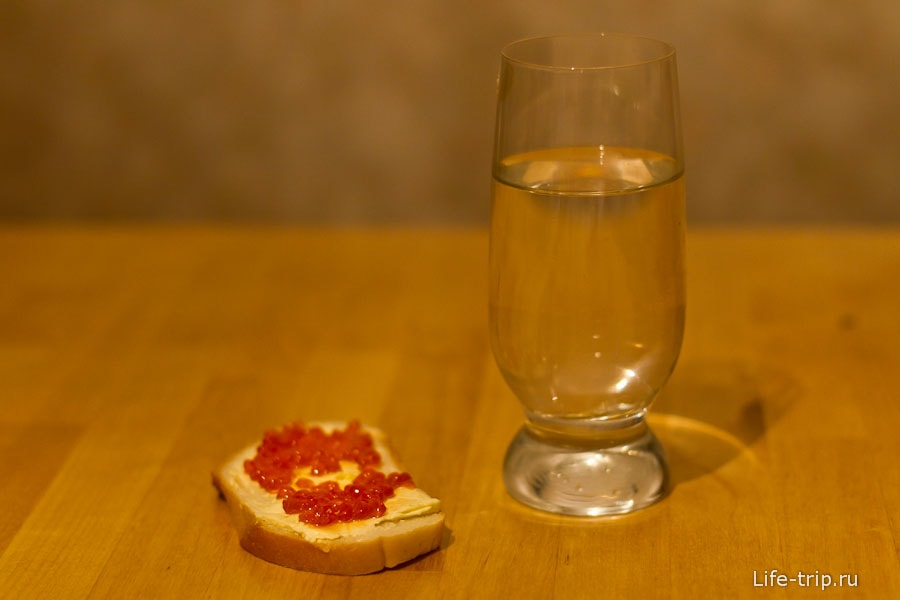 Живем на хлебе и воде