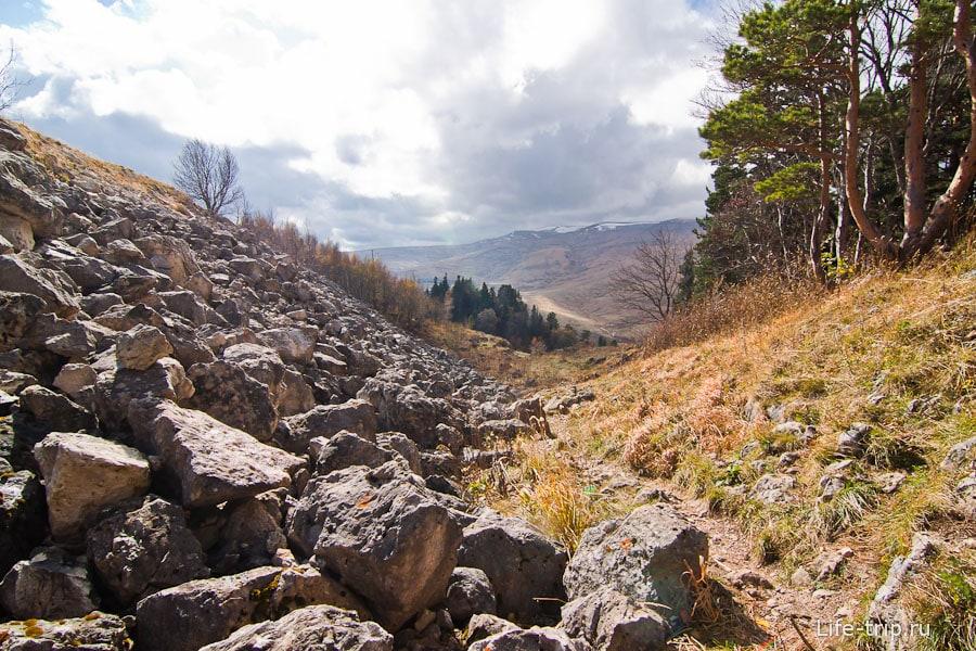 Каменные склоны