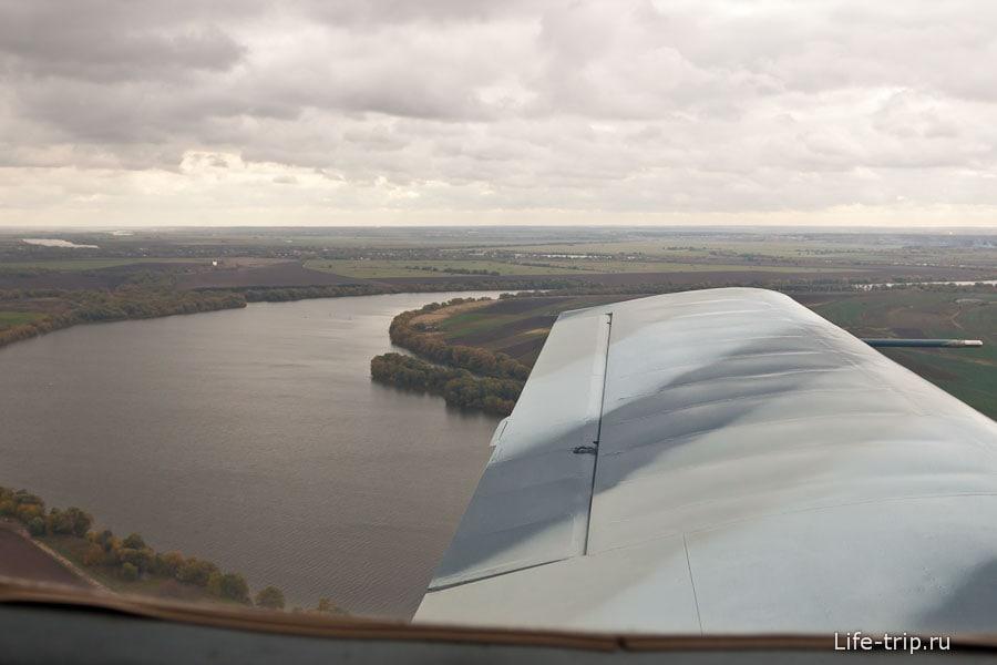 Типичные русские пейзажи из окна