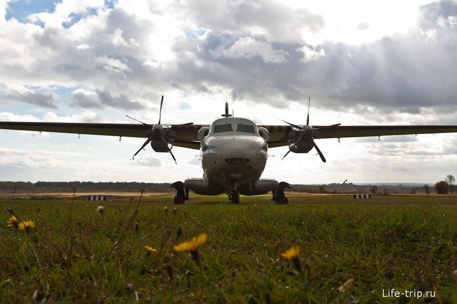 Еще какой-то самолет бизнес-класса