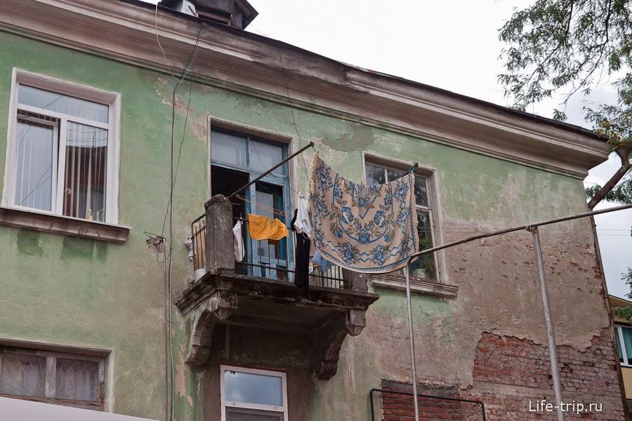 Балкончик в Туапсе