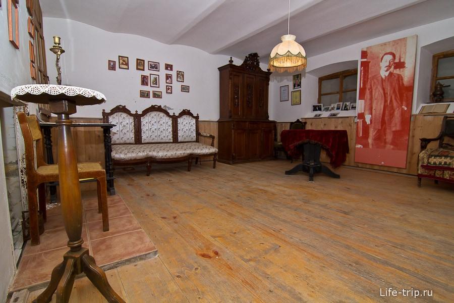 Мемориальная комната, посвященная Б.К. Зайцеву