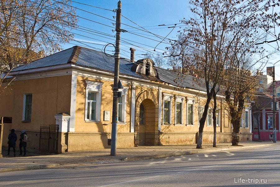Тот самый дом, где жил писатель Б.К. Зайцев