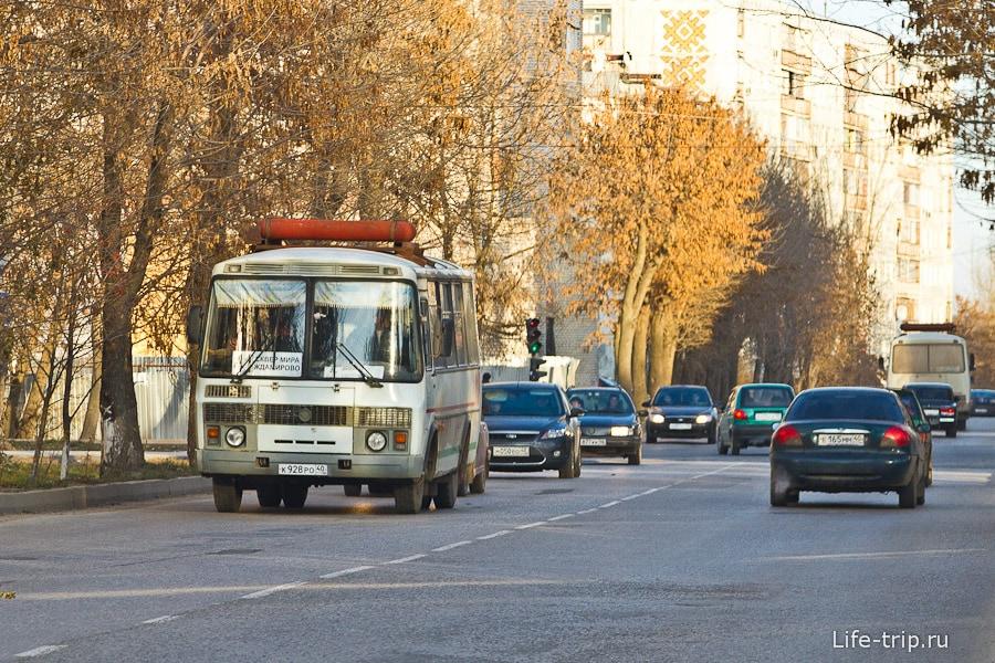 В Калуге автобусы ходят на газу