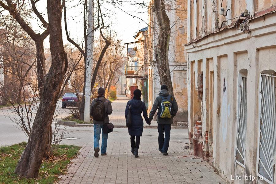 Прогулка по улочкам Калуги