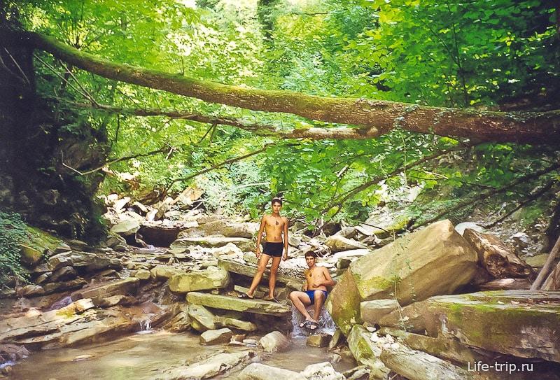 Прогулки по речке Жане