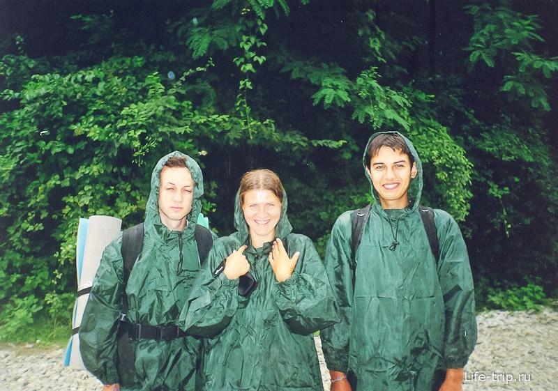 Пошли на гору Цыганкова и попали под 5ти часовой ливень, дождевики не спасли