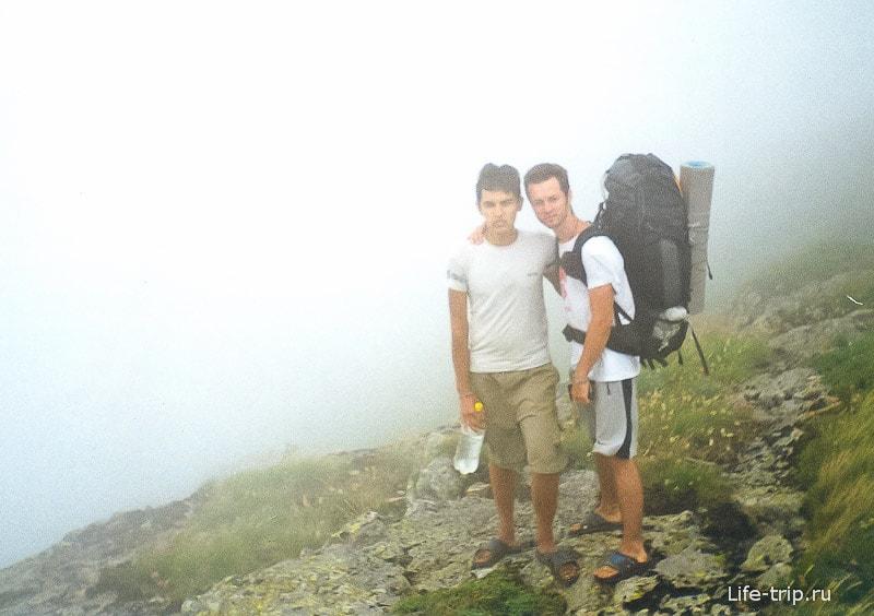 На высоте 1500 метров - холодно