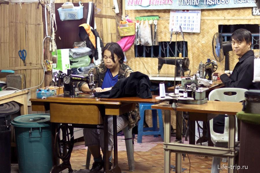 Швейные мастерские встречаются часто