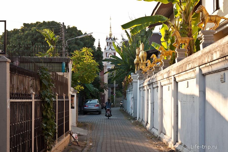 Улочка в Чианг Май