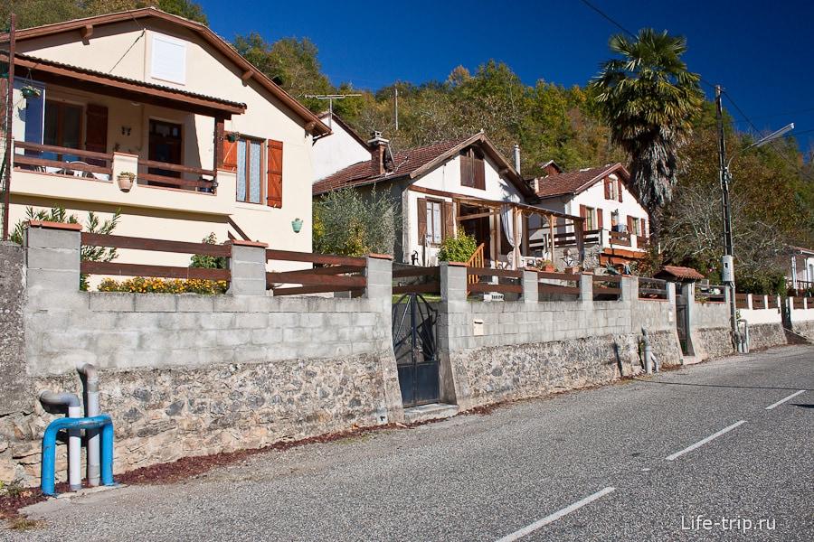 Симпатичные домики в провинции