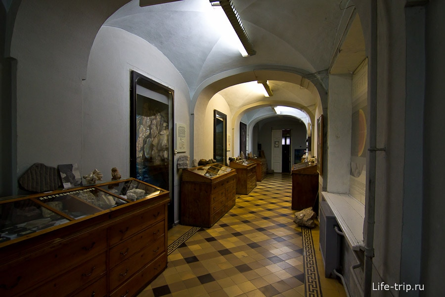 Коридоры Музея природы