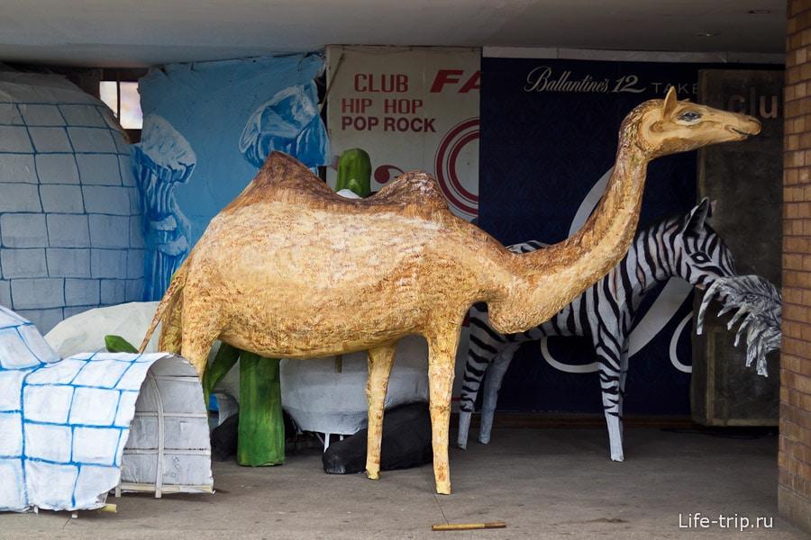 Готовый верблюдо-жираф