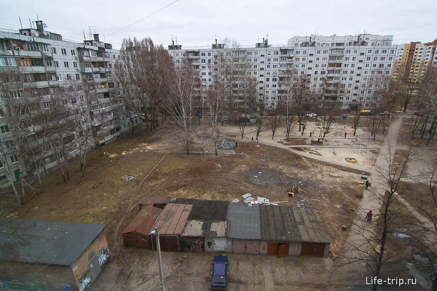 Спальный район Харькова