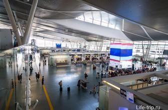 Зона вылета в международном терминале Пхукета