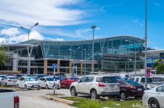 Вот так выглядит снаружи международный терминал Пхукета