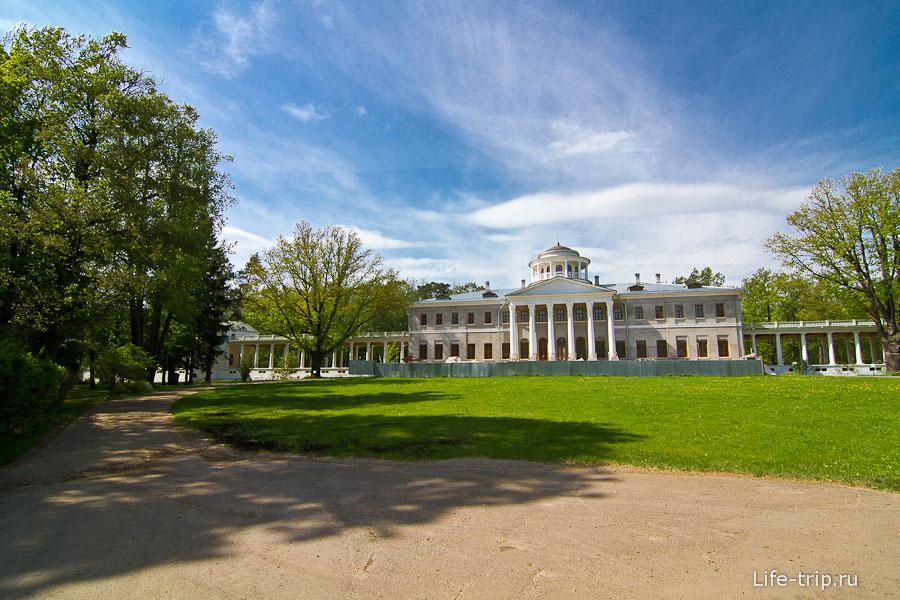 Музей усадьба Остафьево - больше в ширик не вошло
