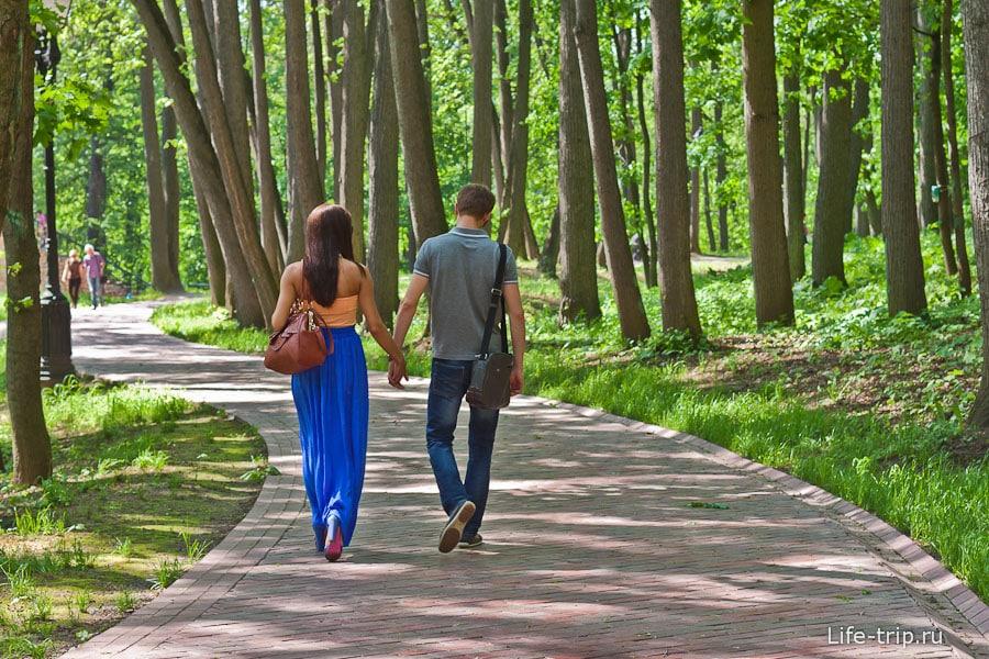 Романтическая прогулка по Царицыно