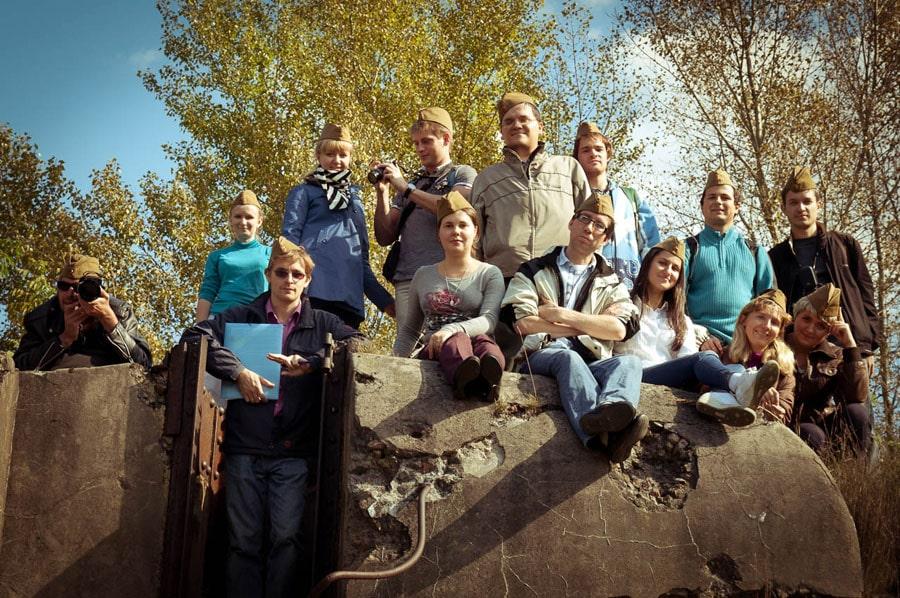 Пятый форт Брестской крепости, на границе с Польшей