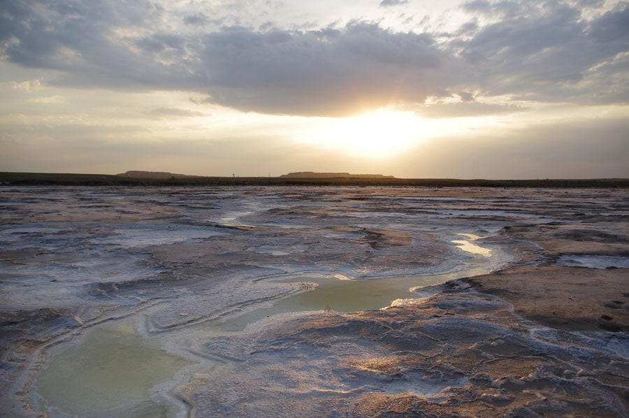 Солёное озеро Баскунчак, Астраханская область