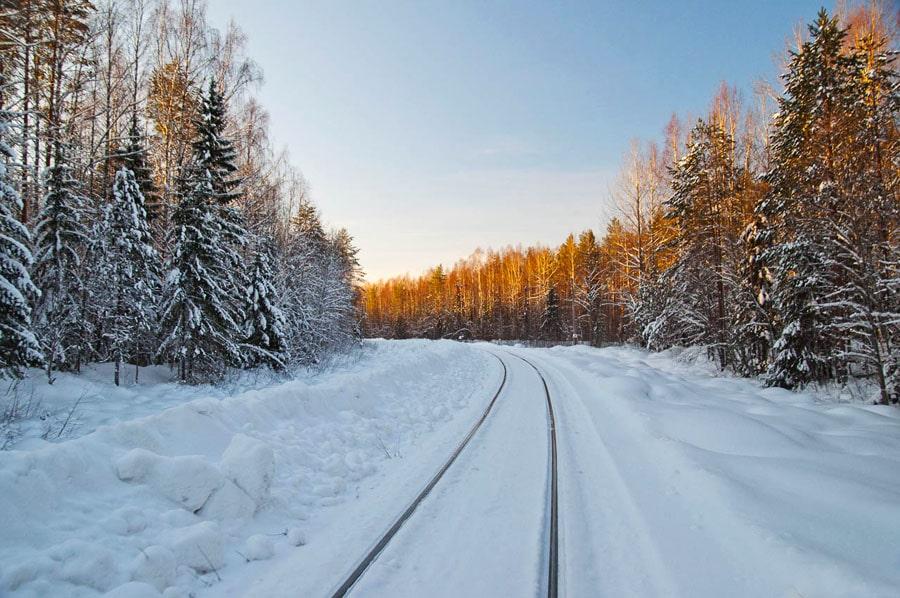 В вологодской глубинке, на лесовозной Монзенской железной дороге