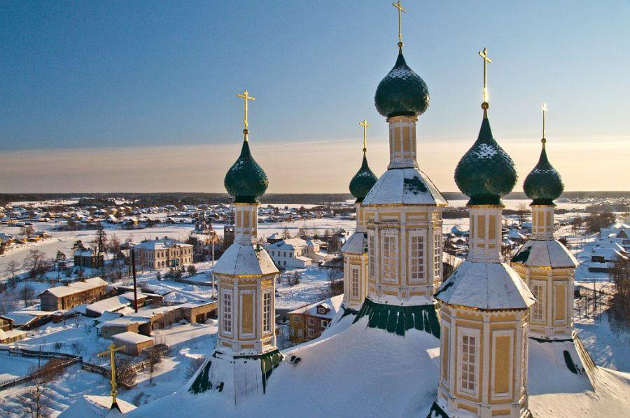 Солигалич с высоты колокольни собора Рождества Пресвятой Богородицы