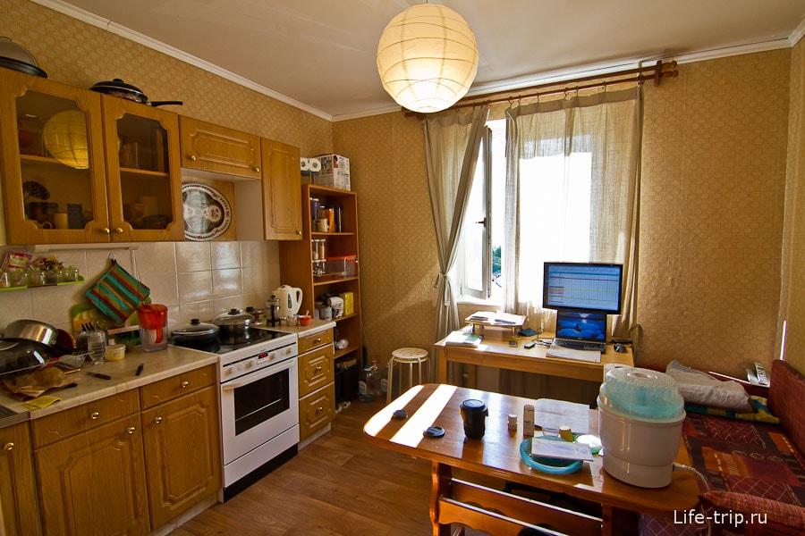 Бюджетный косметический ремонт на кухне