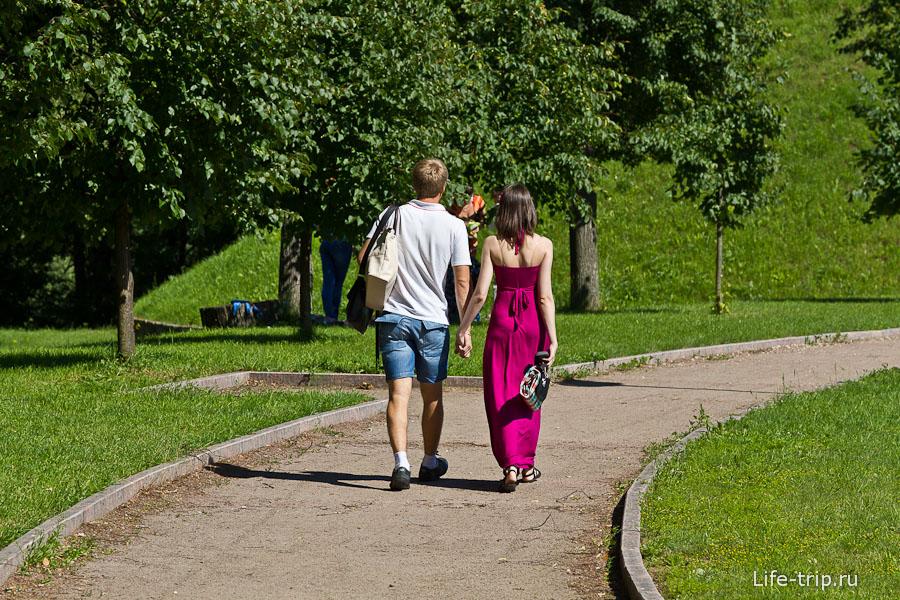 Романтические прогулки в Дубровицах