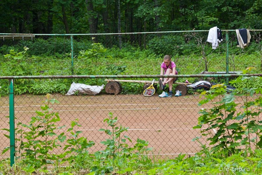 Архитекторы приезжают играть в теннис